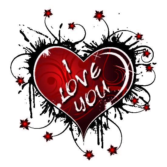 "Untersetzer ""I love you – you me"""