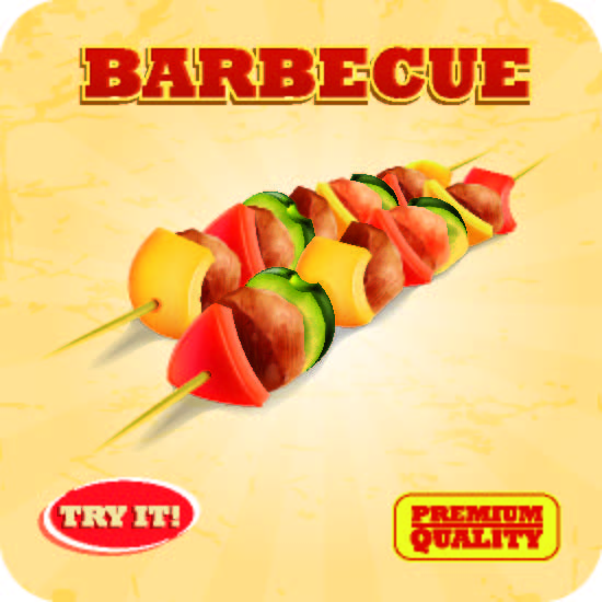 "Untersetzer ""Barbecue"""