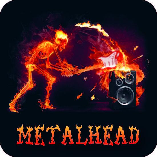 """Bierdeckel """"Metalhead"""""""