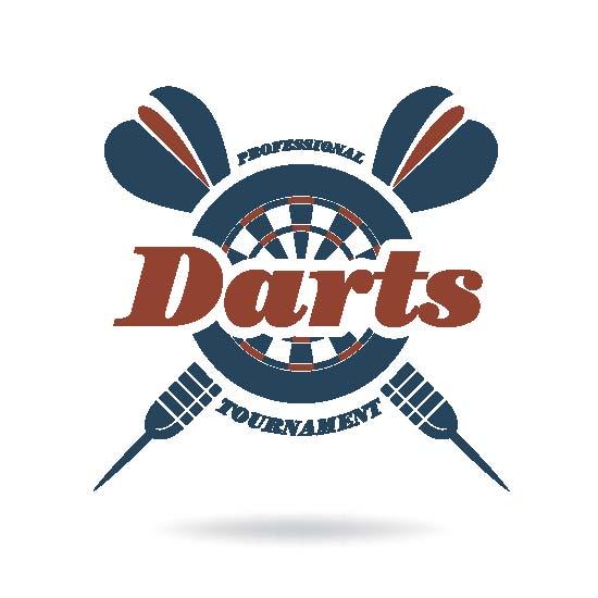 """Bierdeckel """"Darts"""""""