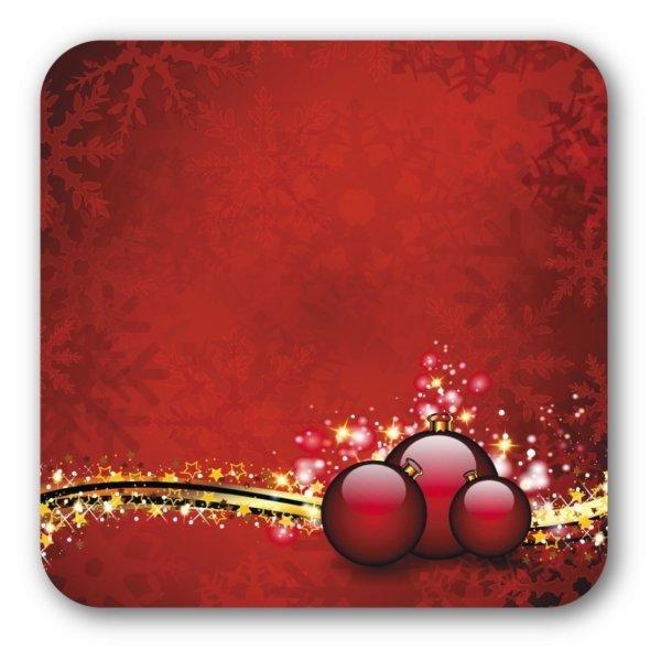 """Glasuntersetzer """"Motiv Weihnachten"""""""