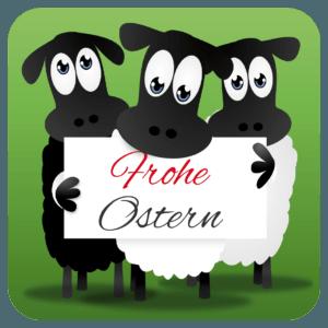 "Getränkeuntersetzer ""Frohe Ostern"""