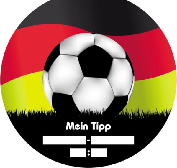 Fußball-Tipp Bierdeckel Deutschland