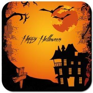 """Untersetzer """"Halloween"""""""