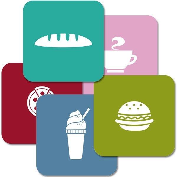 """Untersetzer """"Kitchen Icons"""""""