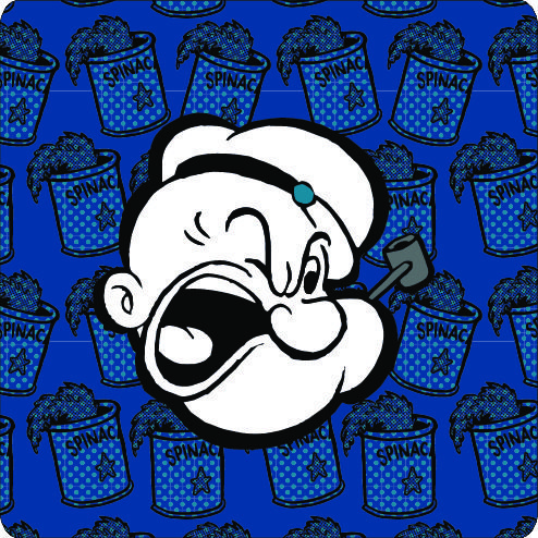 "Popeye ""charakter in limited color"""