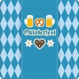 """Bierdeckel eckig """"Oktoberfest"""""""