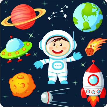 "Getränkeuntersetzer ""Astronaut"""