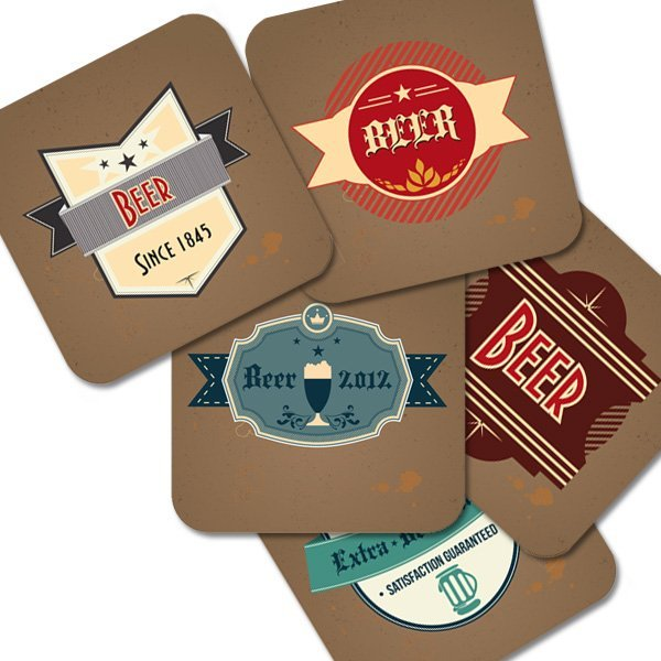 "Bierdeckel ""Old Beer Labels"""
