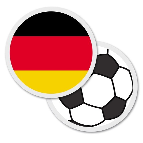 """Fußball Bierdeckel """"Deutschland"""""""