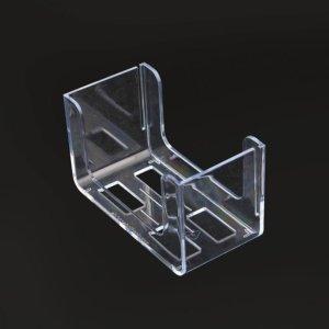 """Bierdeckelständer """"transparent"""" für eckige Bierdeckel"""
