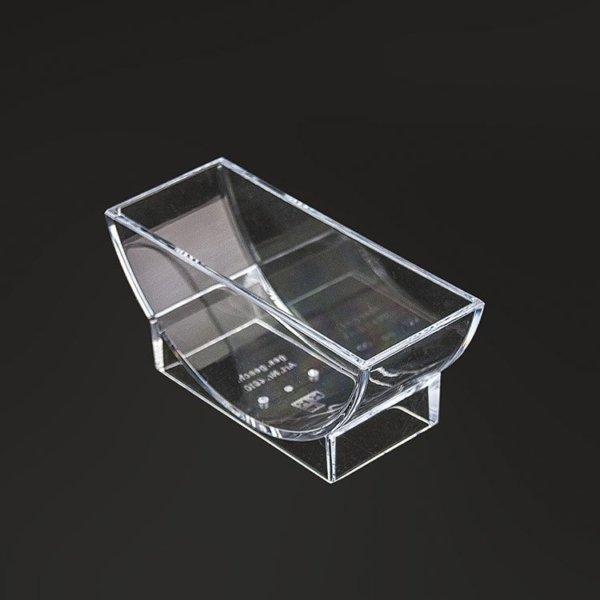 """Bierdeckelständer """"transparent"""" für runde Bierdeckel"""