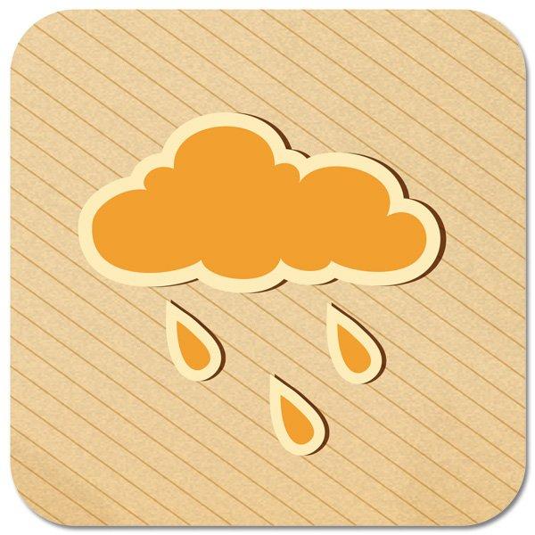 """Untersetzer """"Wie wird's Wetter"""""""
